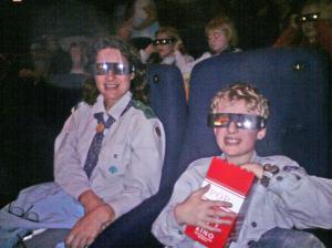 Speidere på 3D kino